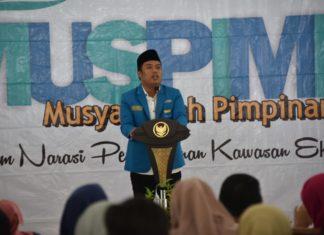 Ketua PKC PMII Jatim, Abdul Ghoni
