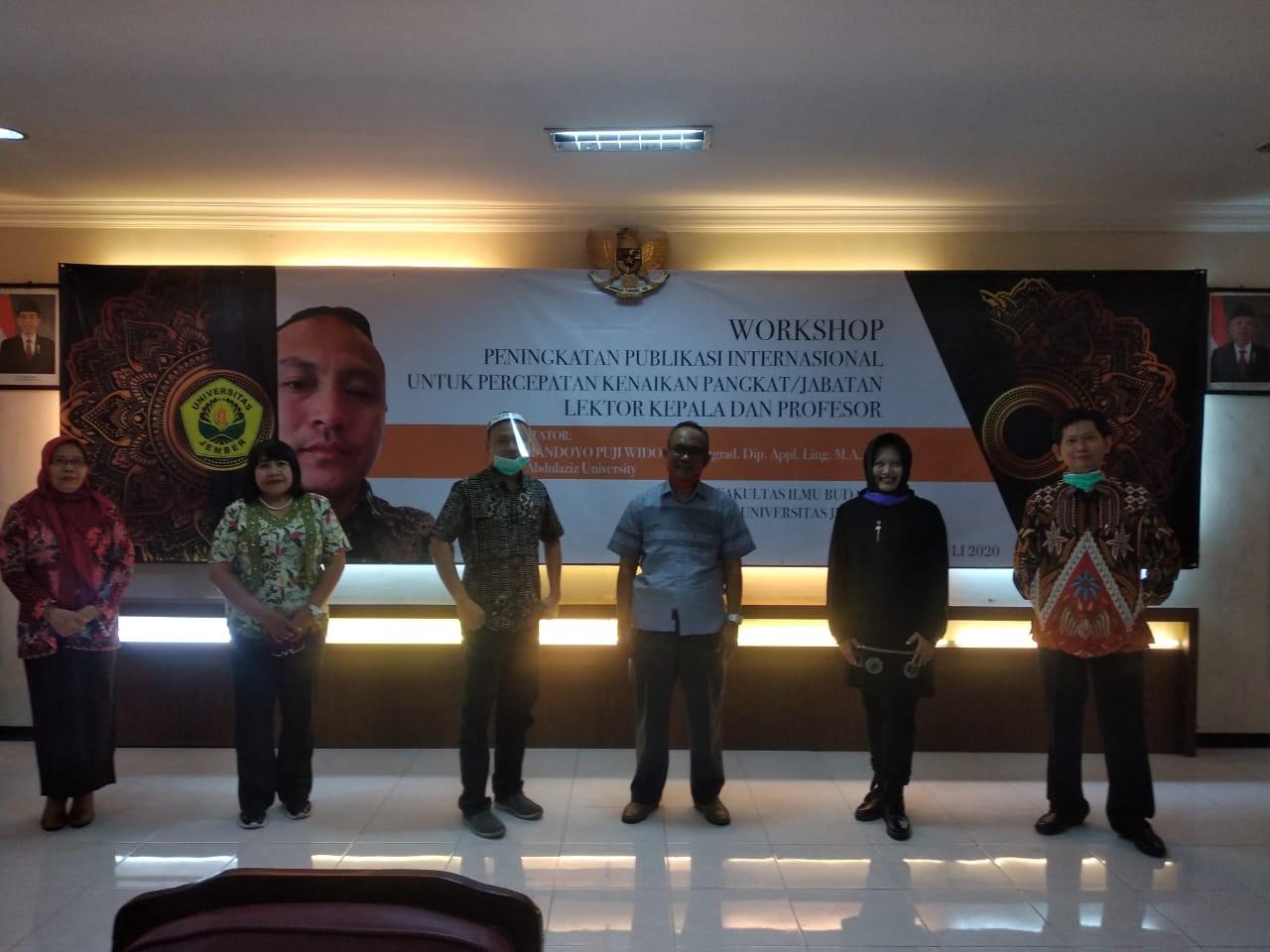 FIB UNEJ Adakan Workshop Publikasi Jurnal Internasional ...