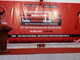 Sekretaris DPC PDI Perjuangan Bojonegoro, Hasan Abrory (Foto: Istimewa)