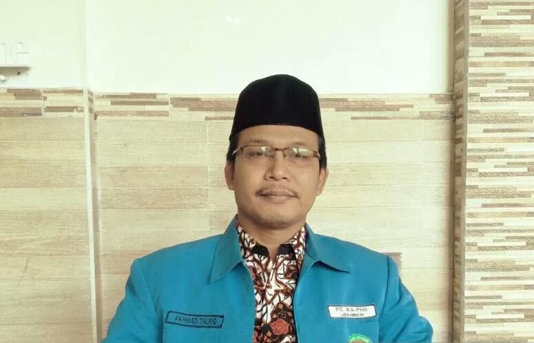Ketua IKA PMII Jember, Akhmad Taufiq