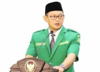 Ketua PW Ansor Jawa Timur, M. Syafiq Syauqi