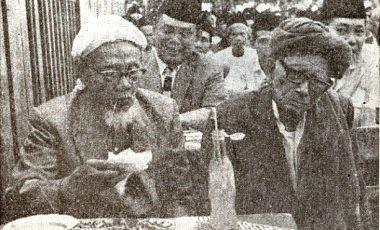 Kyai Bisri Syansuri dan Kyai Wahab Hasbullah