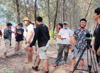 Lokasi syuting Film BLT Cinta Kemendes PDTT di Desa Sucorejo, Tuban. (Foto: Beritabaru.co/Wan)