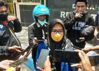 Raudhatul Jannah, Ketua Kopri PC PMII Sampang. (Foto: Beritabaru.co/Nuruddin)