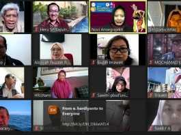 Fakultas Bahasa dan Seni Rupa Universitas Negeri Surabaya bekerjasama dengan Asosiasi Tradisi Lisan (ATL) Jawa Timur usai gelar Diklat Penelitian Tradisi Lisan Online Via Zoom Meeting pada Senin, (24/10).