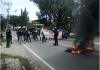 Peringati Hari Sumpah Pemuda, ABRI Unjuk Rasa di Jalan Poros Parepare-Pinrang. Rabu, (28/10). Husnil