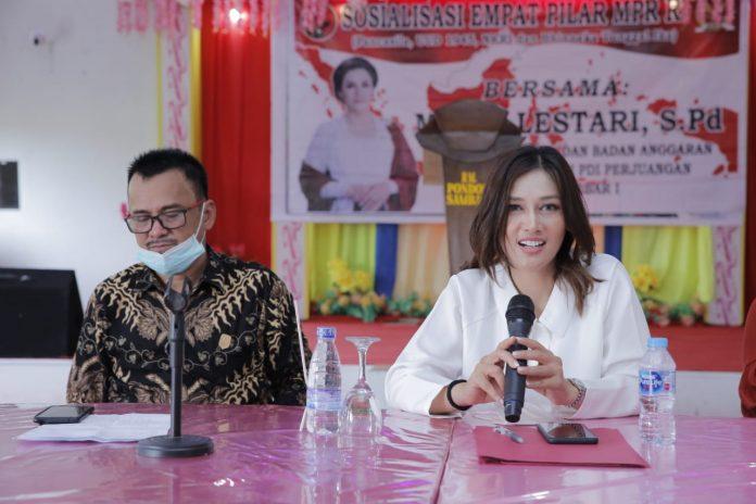Anggota DPR-MPR RI Dapil Kalimantan Barat (Kalbar) I, Maria Lestari. (Foto: Beritabaru.co)