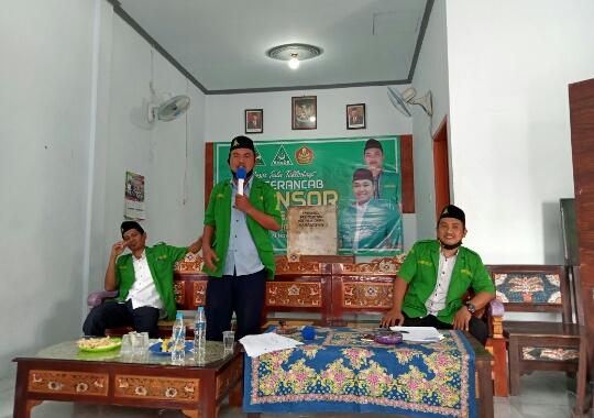 Konferancab GP Ansor Krejengan Tetapkan Sahabat Bashori Sebagi Ketua