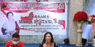 Maria Lestari, SP.d, Anggota DPR-MPR RI Dapil Kalimantan Barat I. (Foto: Beritabaru.co)