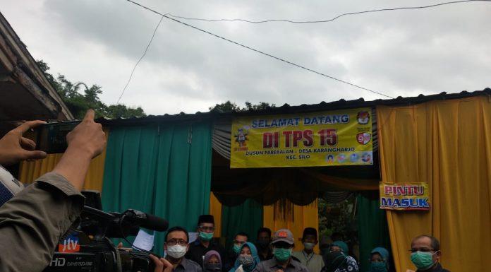 KH. A. Muqit Arief, Wakil Bupati Jember, pada Rabu (9/12)