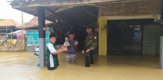 Bantu Korban Banjir, GP Ansor Blega Bakti Sosial