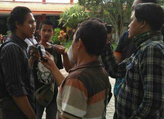 Achmad Faizal Briliansyah, Koordinator JPPR Kabupaten Jember pada Senin (7/12/2020) saat di wawancarai
