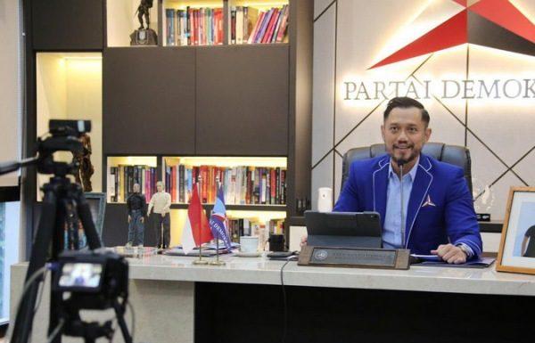 Ketua Umum DPP Partai Demokrat, Agus Harimurti Yudhoyono (AHY). Twitter/@AgusYudhoyono.