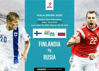 Cover Finlandia vs Rusia /  Grafis Yusuf/Skor.id