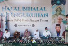 P4NJ Probolinggo Timur Gelar Halal bi Halal dan Pengukuhan Pengurus