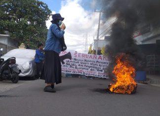 Aksi Solidaritas PMII Parepare, Zulkifli: Usut Sampai Tuntas