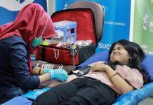 Peringati Hari Donor Darah, Dinkes Lumajang Ajak Masyarakat Donor