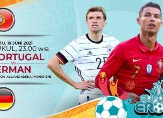 Link Live Streaming Portugal vs Jerman, Grup F Euro 2020
